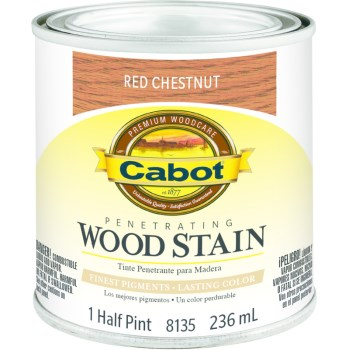 Wood Stain - Red Chestnut - 1/2 pint