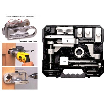 Heavy Duty Door Lock Installation Kit