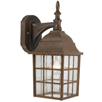 Outdoor Light Fixture, Wall Mount ~ Artesian Bronze