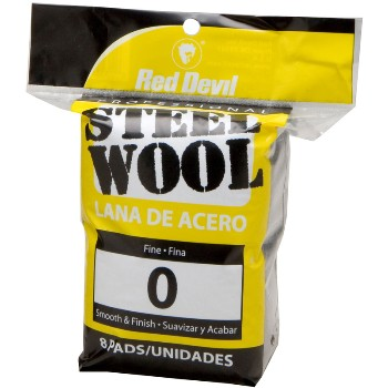 Steel Wool  8 Pad #0