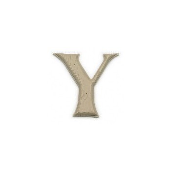 House Letter Y,  Simulated Wood-Grain Letter ~ 7""