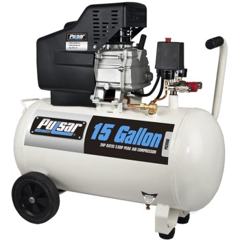 Pulsar Products PCE6150VK 15 Gallon Air Compressor