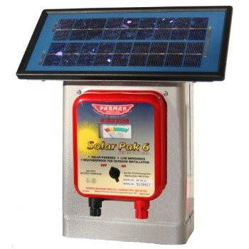 Fence Charger, Solar - 25 Mile Range