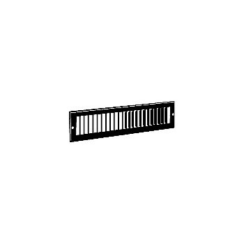Hart & Cooley 427W12X2 Wh Toe Space Grille