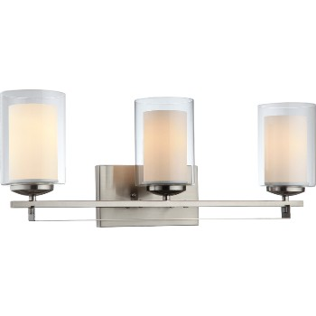 El Dorado Wall & Bath Fixture ~ Satin Nickel