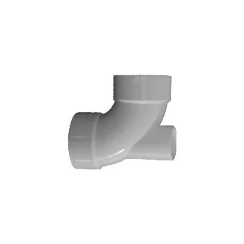 "90 Degree Lowheel Inlet Elbow, 3"" x 3"" x 1.5"" /2"""