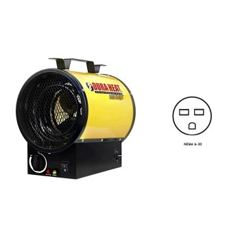 Duraheat  EUH5000 Portable Electric Forced Air Heater ~ 16,000 BTUs/240V
