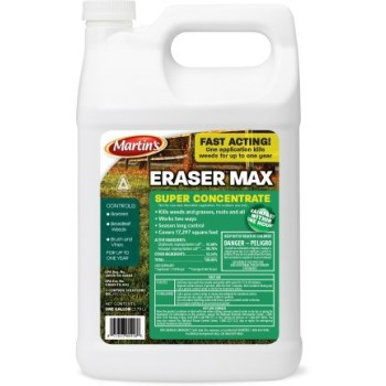 Martin's Eraser Max Weed & Grass Killer ~ Gallon
