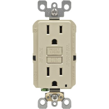 Self-Test SmartLock GFCI Receptacle 3-Pak