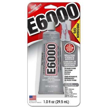 Eclectic 231020 1oz E6000 Glue
