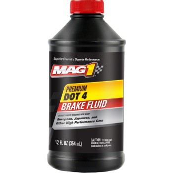 Mag1 Premium DOT 4 Brake Fluid ~ 12oz