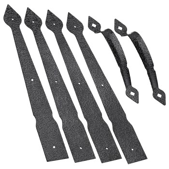 Spear Gate Kit w/Pull ~ Black Textured