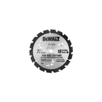 Carbide Blade, 7-1/4 inch, 18 teeth