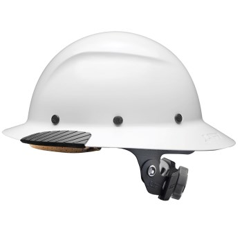 DAX Full Brim Resin Hard Hat  ~  White