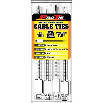 Cable Ties ~ 7in. Id 100pk