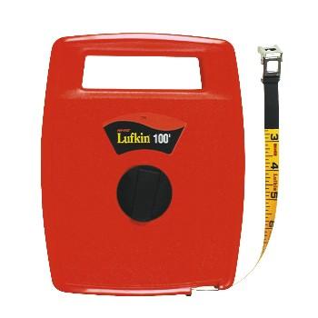 Lufkin/Apex/CopperTools 706L Fiberglass Tape - Hi-Viz Orange Lufkin - 100ft