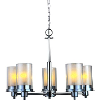 Avalon Design Series 5-Light Chrome Chandelier