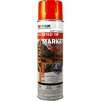 Series 3®  Inverted Stripe Marking Paint,  Alert Orange ~ 20 oz Aerosol Cans