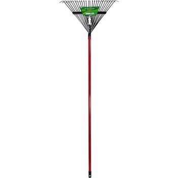 Steel Handle Leaf Rake ~ 24""
