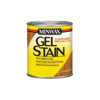 Gel Stain,  Cherry Wood ~  Quart
