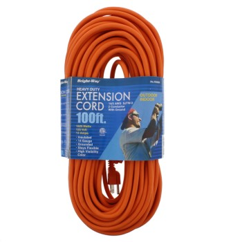 Heavy Duty Indoor/Outdoor Cord ~ 100 ft.