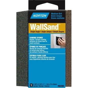 WallSand Single Angle Abrasive Sanding Sponge ~ Medium Grit