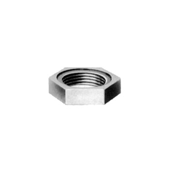 Hex Locknut - Galvanized Steel - 1 inch
