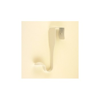White Over Door Hook