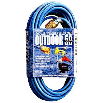 Coleman Cable 02368 Indoor/Outdoor Extension Cord - 50 feet