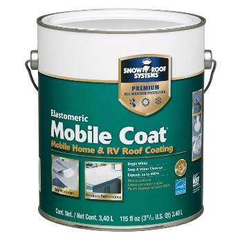 Mobile Home Roof Coat - 1 Gal