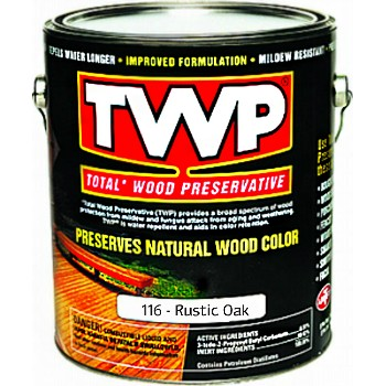 TWP/Gemini TWP116-1G Wood Preservative, Rustic Oak ~ Gallon