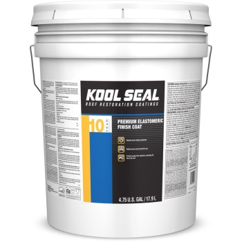 Kool White Roof Seal - 4.75 Gallon bucket