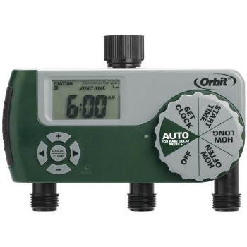 Hose Tap Timer, Digital ~ 3 Outlet