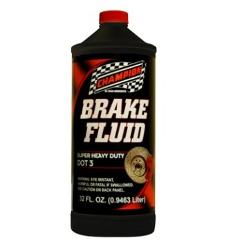 Brake Fluid - DOT3 - 1 QT
