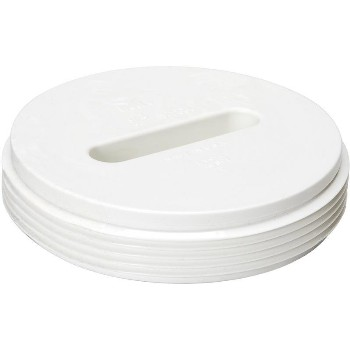 4in. Pvc Thread Flush Plug