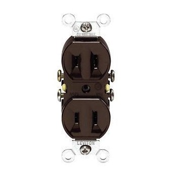 Duplex Outlet, 2-Wire