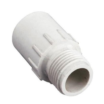 Hose to Pipe Fitting, Plastic ~ 3/4""