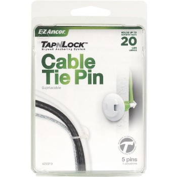 ITW/Ramset 25019 Tap-N-Lock Cable Tie Pin, 20 Lb ~ Pack of 5