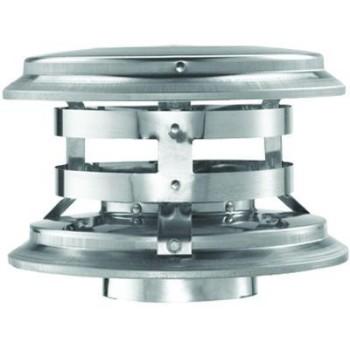 """M & G Duravent 4PVL-VCR Pellet Vent Verticle Cap ~ Fits 4"""" Pipe"""