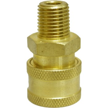 1/4in. Male Npt Coupler