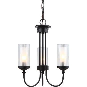 Lexington Chandelier, 3 Light ~ Oil Rubbed Bronze