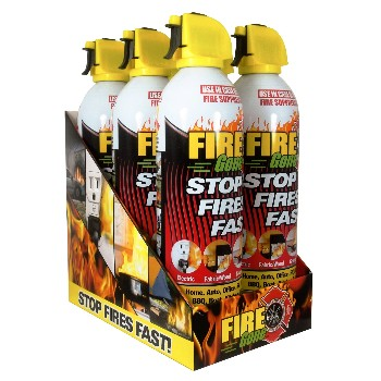 Fire Gone™   Fire Suppressant Safety Pack