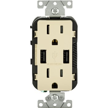 USB Charger & Duplex Receptacle