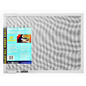 "Adjustable Window Screen, 15"" Height"