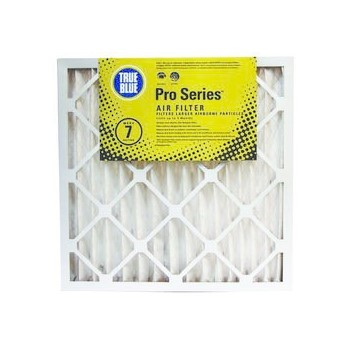 "ProtectPlus PRO216252 True Blue Pro Series 2"" Thick Pleated Air Filter ~ Approx 16"" x 25"" x 2"""