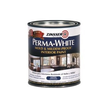 Perma - White Paint, Mildew Proof ~ Quart