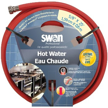 "Hot Water Hose ~ 5/8"" x 25 ft."