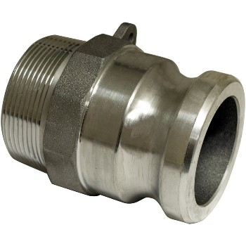 """Apache 50400250 Cam & Groove Male Adapter, Part F ~ 2"""""""