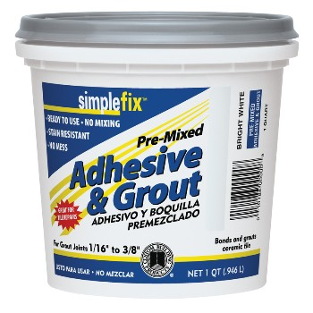 Qt White Premix Grout
