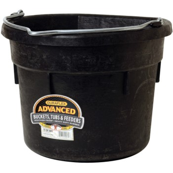 Miller Mfg  DF18FB Flat Back Bucket, 18 Quart